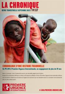 La Chronique n°117 - Septembre 2015