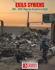 Dossier de presse / Exils syriens / 2011-2016 : cinq ans de guerre en Syrie