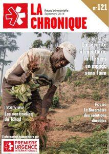 La Chronique n°121 – Septembre 2016