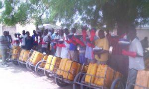 Photo porteurs d'eau