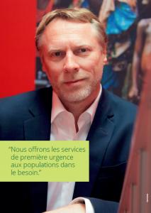 Interview de Thierry Mauricet, Directeur Général de Première Urgence Internationale