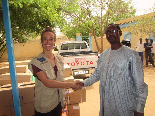 distribution of medication in Chad