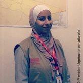 une jeune femme qui travaille pour notre ONG
