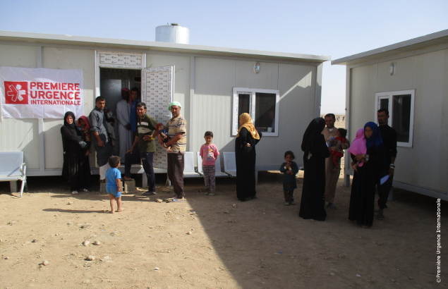 In Salamiyah in Iraq, Première Urgence Internationale has opened a health center.