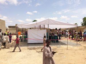 Cliniques mobiles à Maiduguri