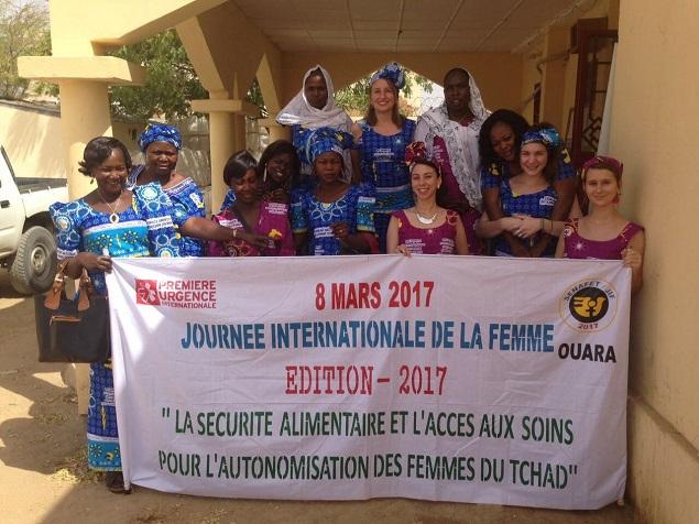 women gathering fot rh Women Day
