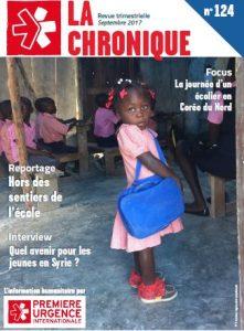 La Chronique n°124 - Septembre 2017