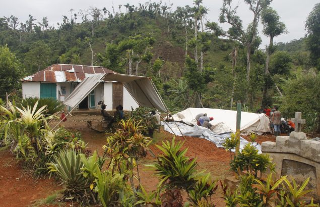 ouragans et catastrophes naturelles