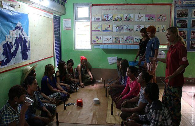 Comment mieux parler parler du VIH au Myanmar ?