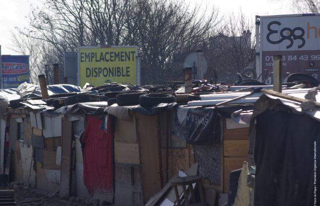 Bidonville en France