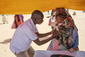 Prise MUAC Tchad - visite ministérielle