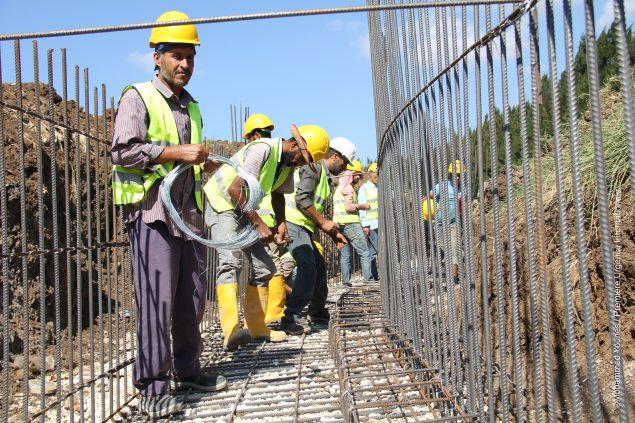 Kalo travailleur sur un chantier
