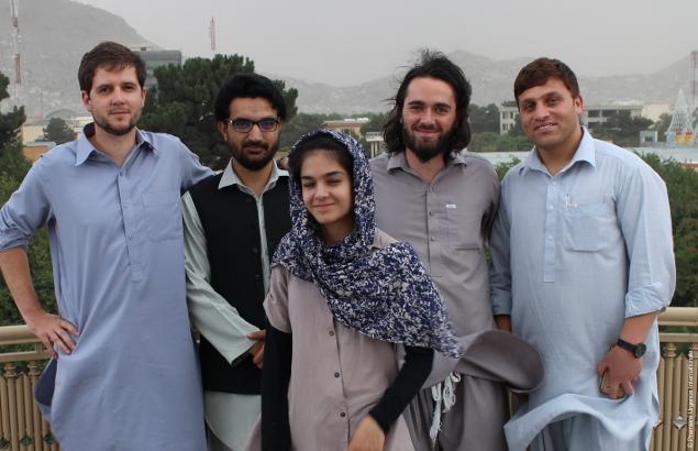 Ivan et ses coéquipiers en Afghanistan