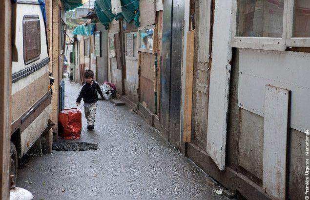 Vie en bidonvilles