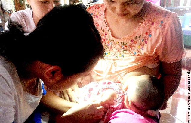 Situation sanitaire au Myanmar, consultations dans un hôpital