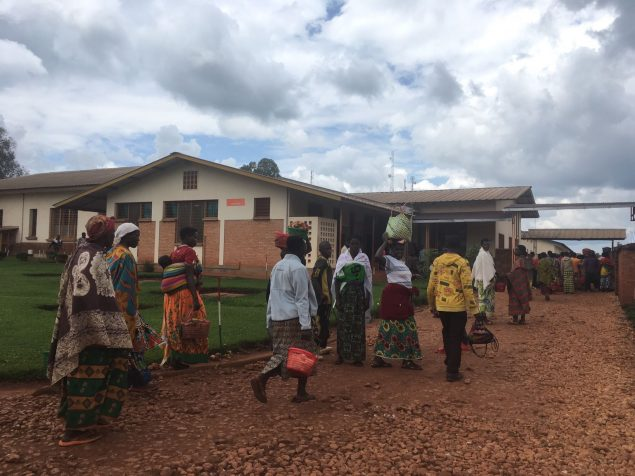 Santé materno-infantile au Burundi