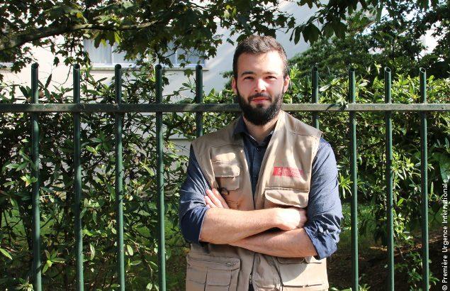 Maxime nous raconte son parcours dans l'humanitaire