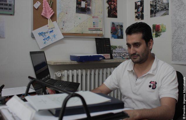 Fouad Loufti est coordinateur infrastructure et habitat, il nous parle d'espoir en Syrie