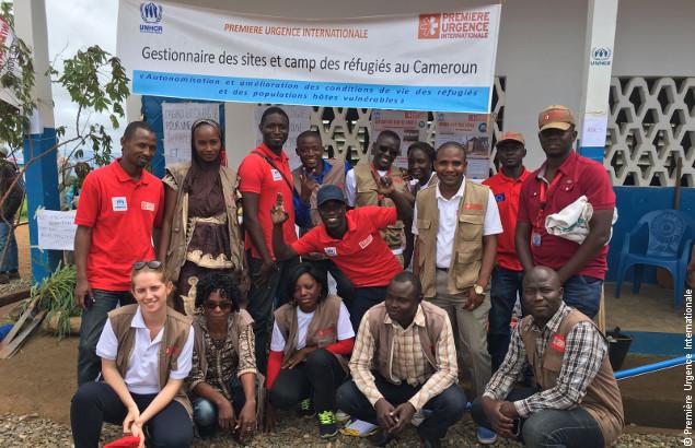 Nos équipes en gestion de camp au Cameroun