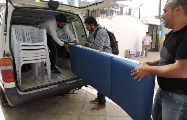 logistique en libye