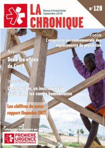La Chronique N°128- Septembre 2018