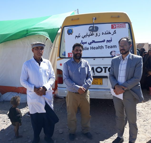 médecin en Afghanistan