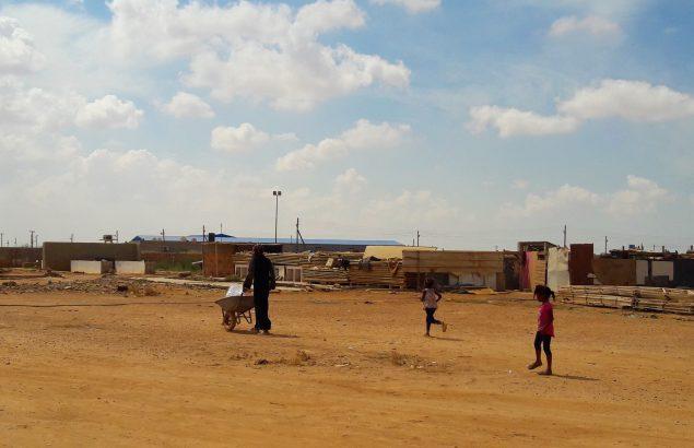Tawerghas en Libye