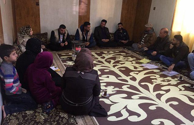 Réunion programme de cohésion sociale à Mossoul