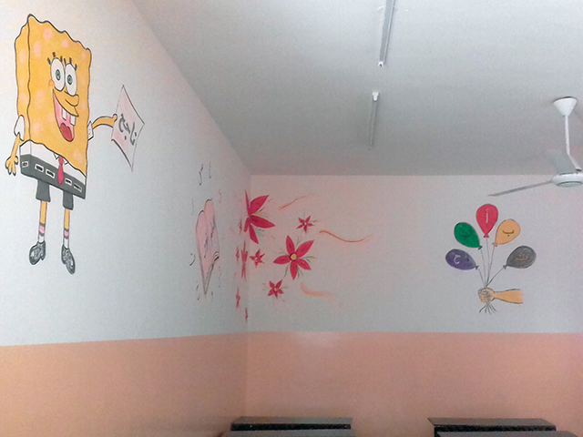 projet de cohésion social à Mossoul dans une école