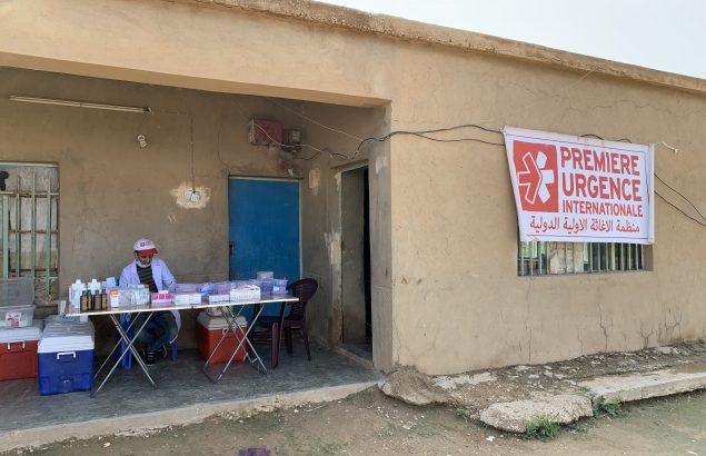 pharmacien clinique mobile dans le gouvernorat de l'Anbar