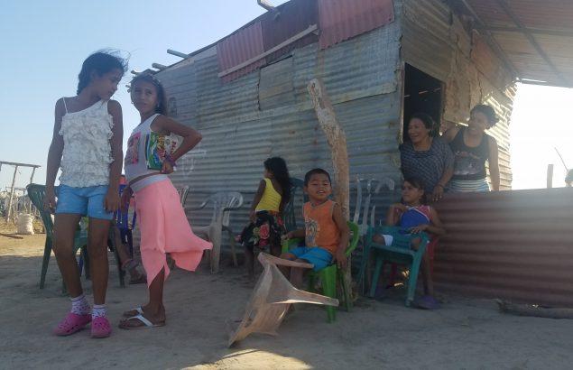 réfugiés vénézuéliens en Colombie