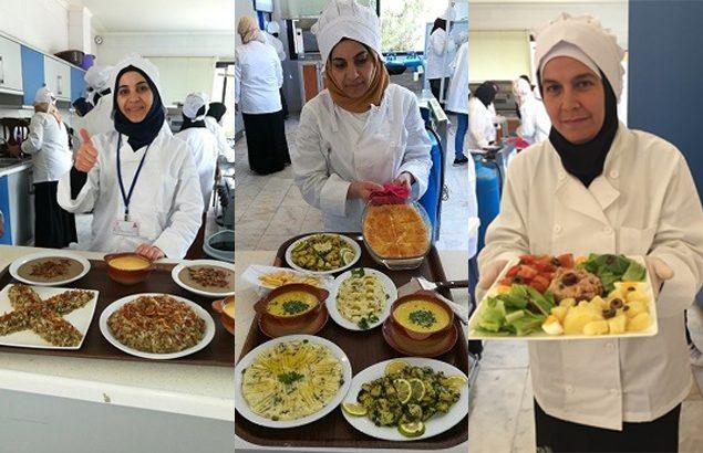Cooking training activities