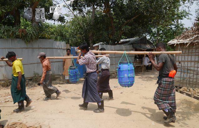 WaSH dans les camps au Bangladesh