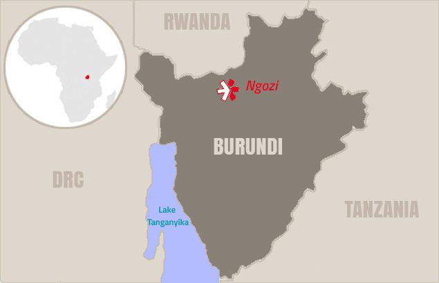 project in Burundi