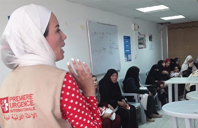 femmes réfugiées et vulnérables en Jordanie