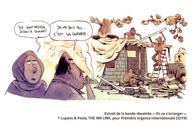 expo de bande dessinée sur le vivre-ensemble au Liban