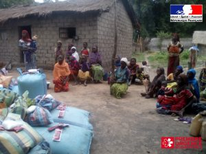 Distribution pour assurer la sécurité alimentaire et nutritionnelle