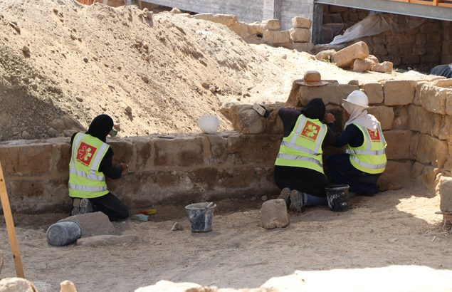 Gaza strip historical archaeological sites