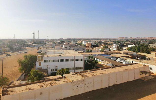 Dans le Sud de Al-Jawf en Libye