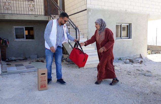 COVID-19 en territoire palestinien occupé