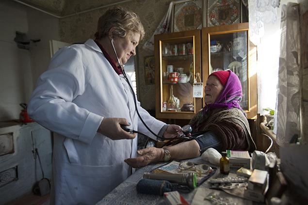 Tetyana infirmière en Ukraine
