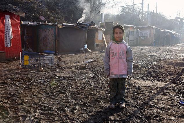 Le COVID-19 dans les bidonvilles où vivent des enfants