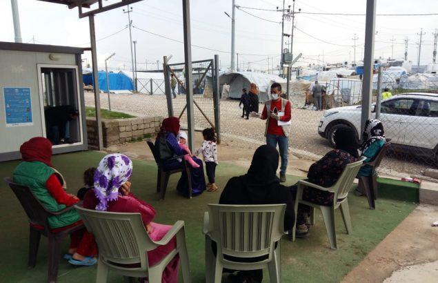 Première Urgence Internationale enIrak : assurer la sécurité des familles face au COVID-19