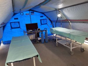 Première Urgence Internationale intervient en santé dans le camp de Salamiyah