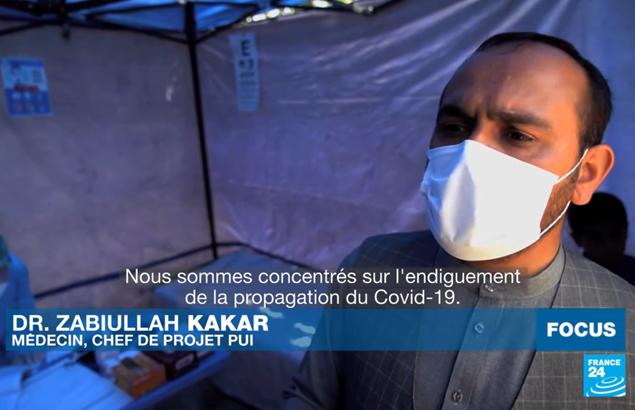 Première Urgence Internationale : cliniques mobiles contre le COVID-19 en Afghanistan
