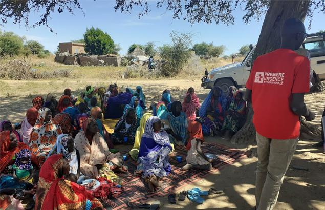 Première Urgence Internationale - Training Mamans PB to detect malnutrition in children