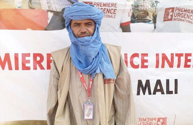 Mohamedine Ag Oufene, mobilisateur communautaire chez Première Urgence Internationale