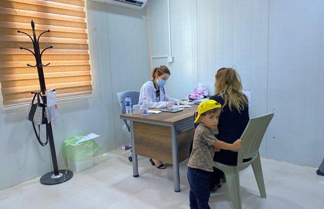 Première Urgence Internationale intervient en santé mentale dans le camp de Bardarash