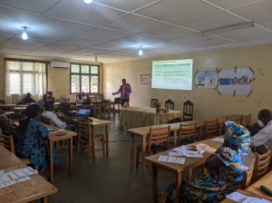 Renforcement du système de santé à Bangui en période de COVID-19