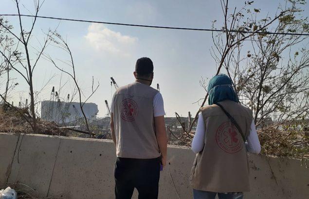Evaluations des dégâts à Beyrouth